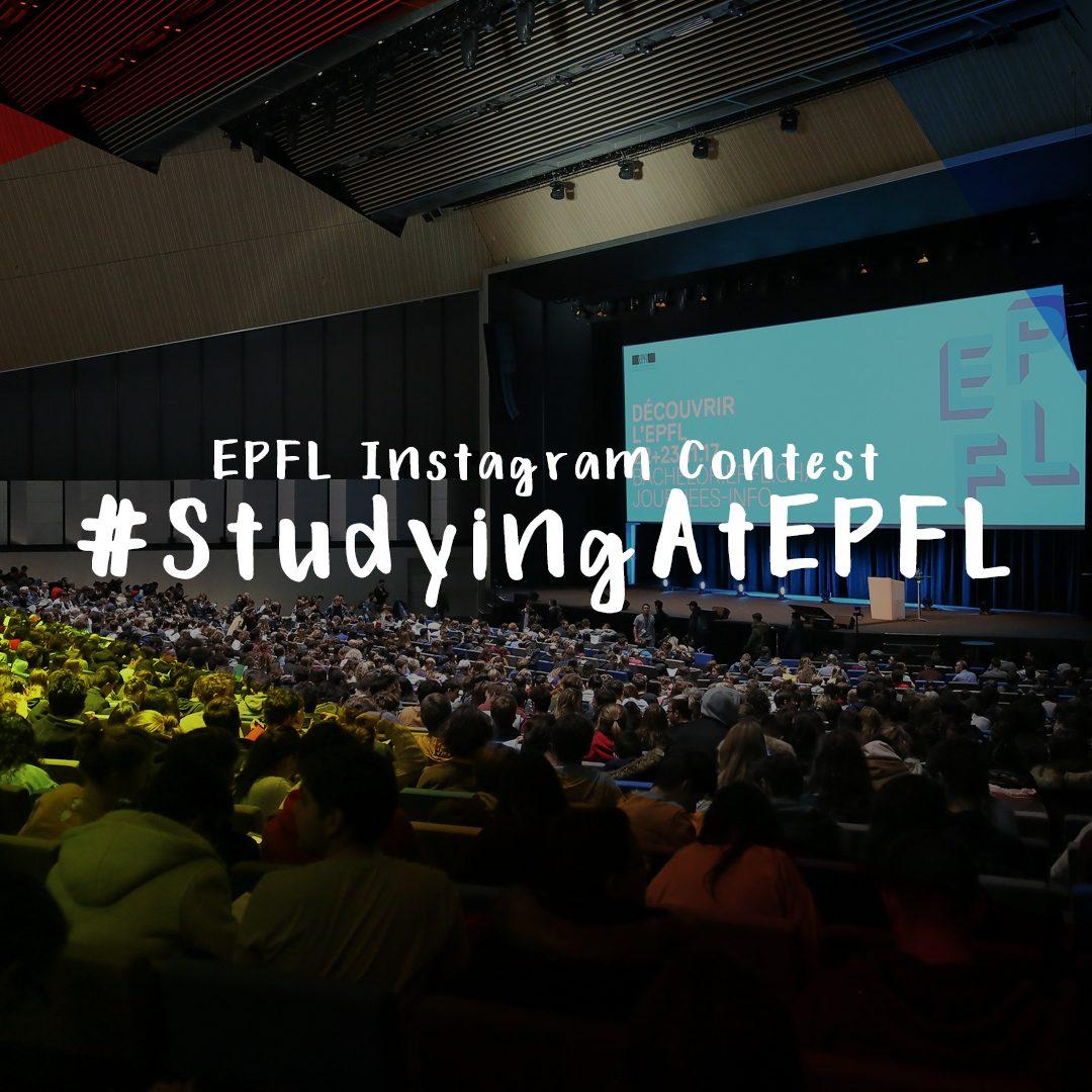Concours Instagram #StudyingAtEPFL