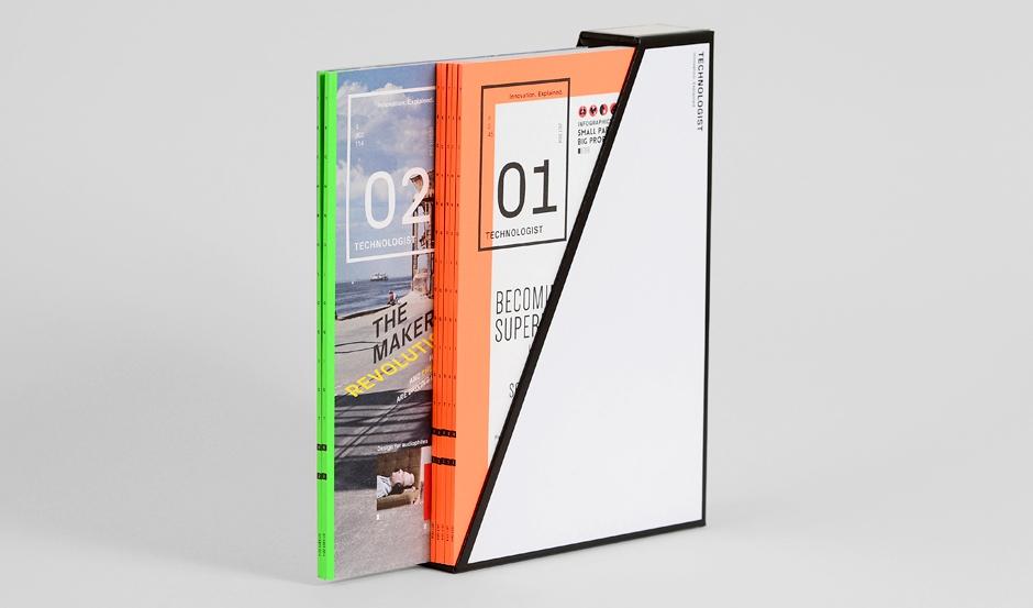 Packshot de revues Technologist