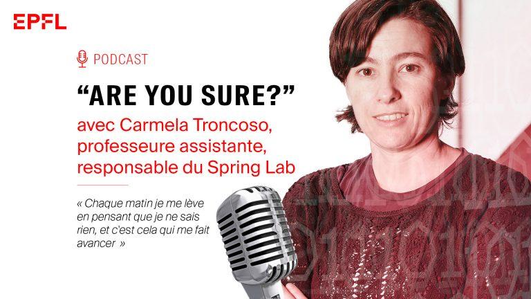 Podcast Carmela Troncoso