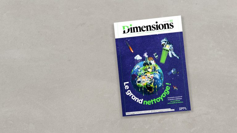 Couverture du magazine n°2 de Dimensions