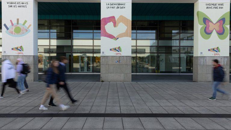 EPFL Campus, Oct. 2021 © Alain Herzog