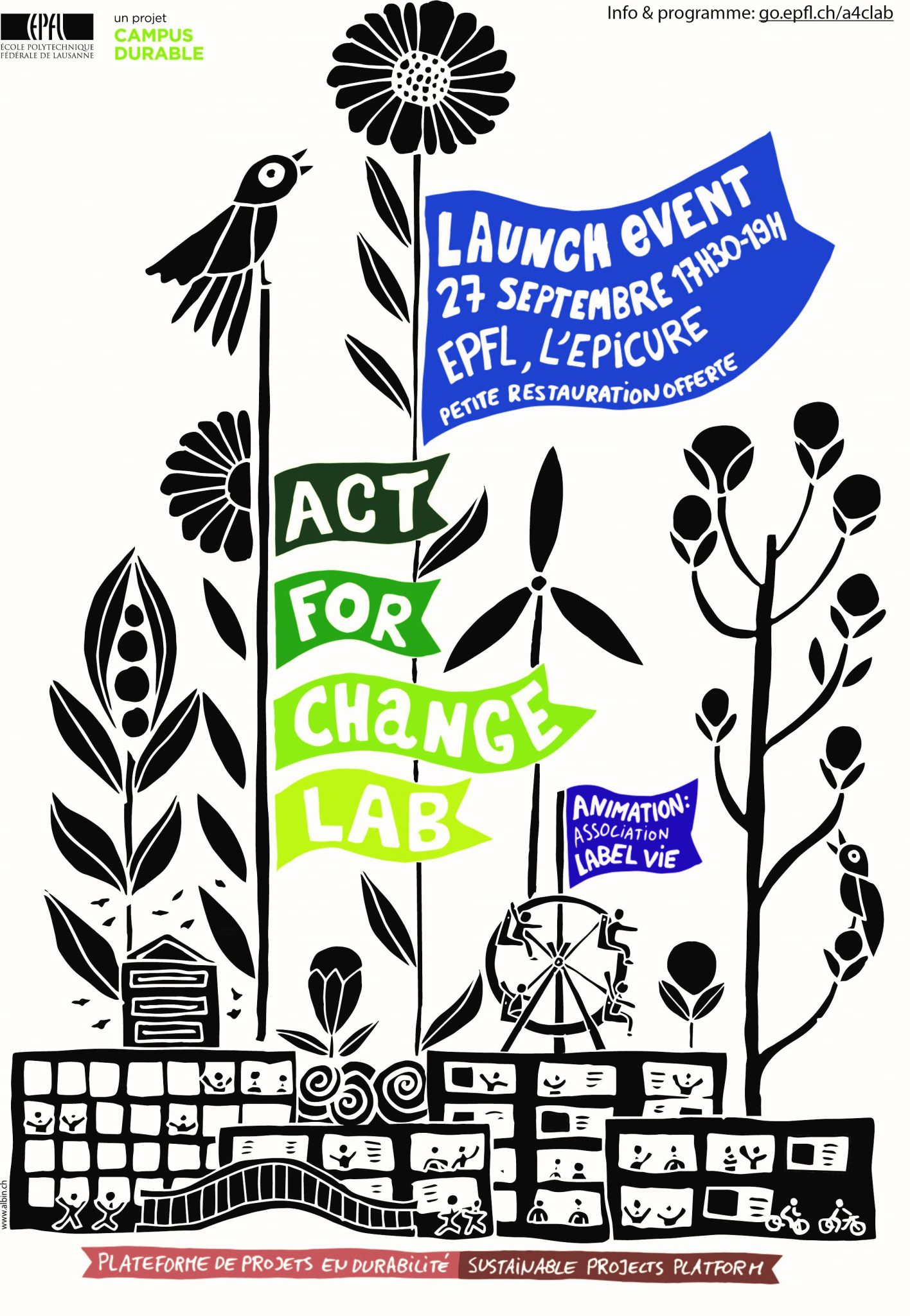 Act for change lab launch devent