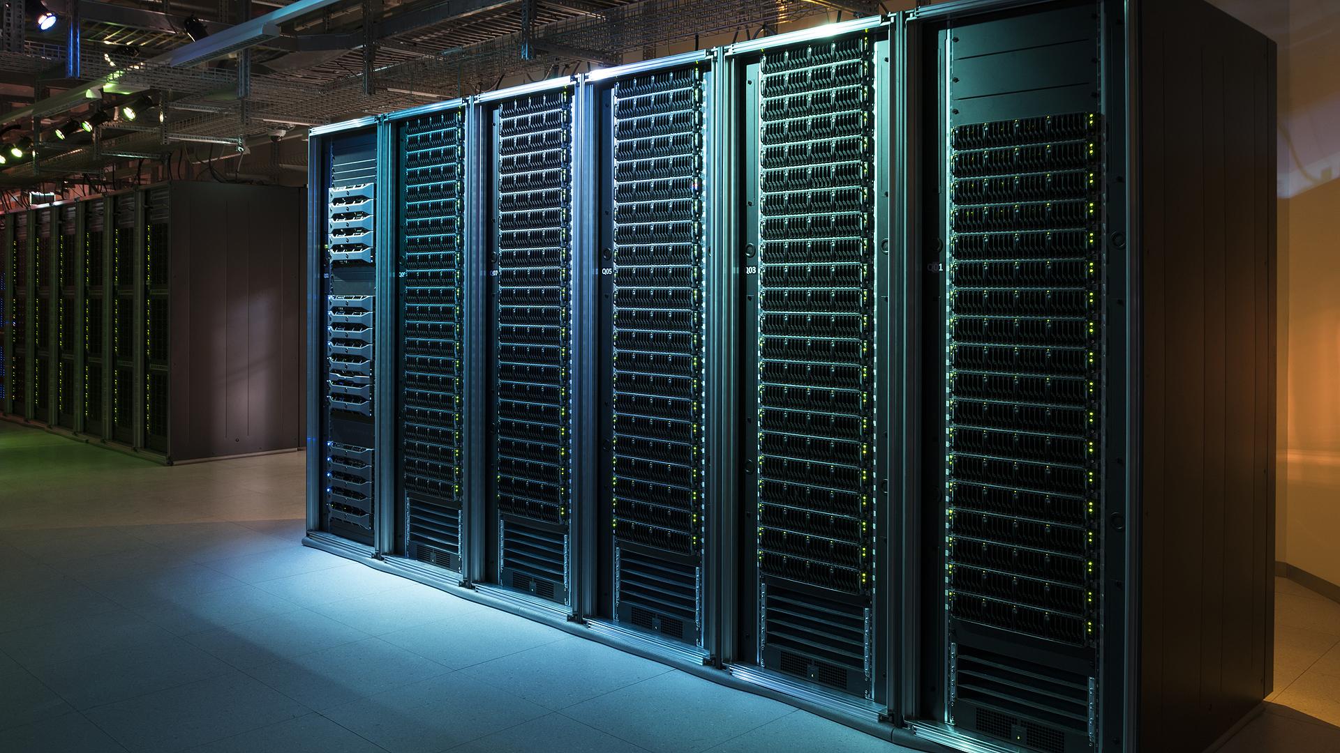 Un data center à l'EPFL