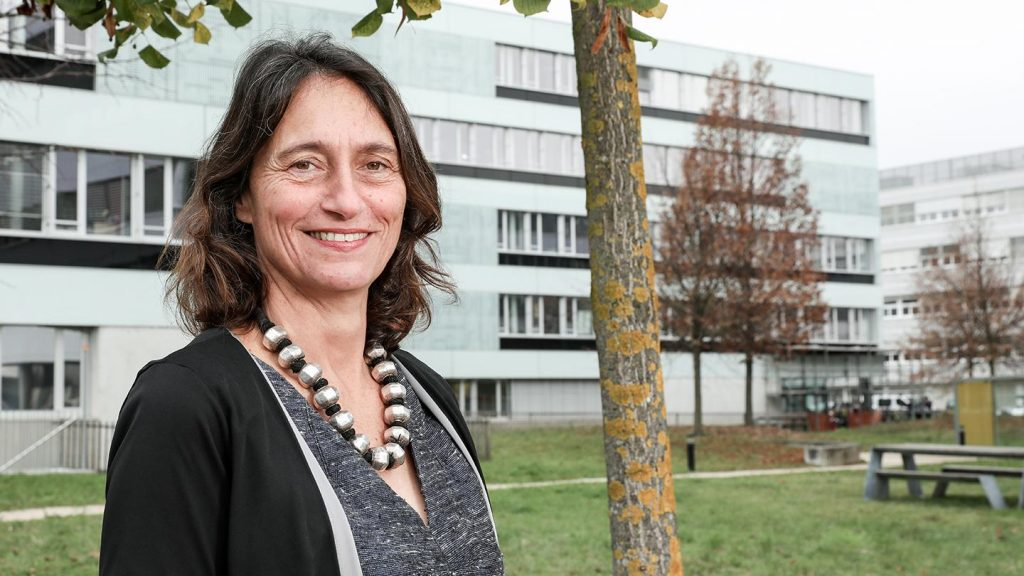 Ursula Oesterle © Alain Herzog / EPFL 2020