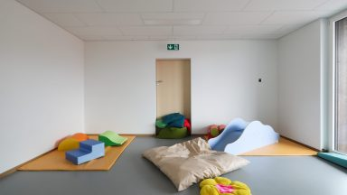 intérieur du CVE Polychinelle © Alain Herzog / EPFL 2019