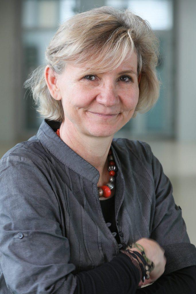 Portrait de Gisou van der Goot © EPFL