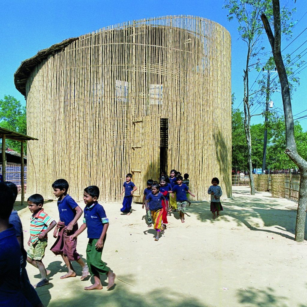 School in the Rohingya refugee camp of Ukhia, Teknaf, Bangladesh © Kashef Chowdhury