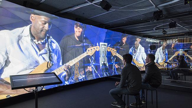 ArtLab - Heritage Lab - Montreux Jazz Café EPFL - photo Adrien Barakat