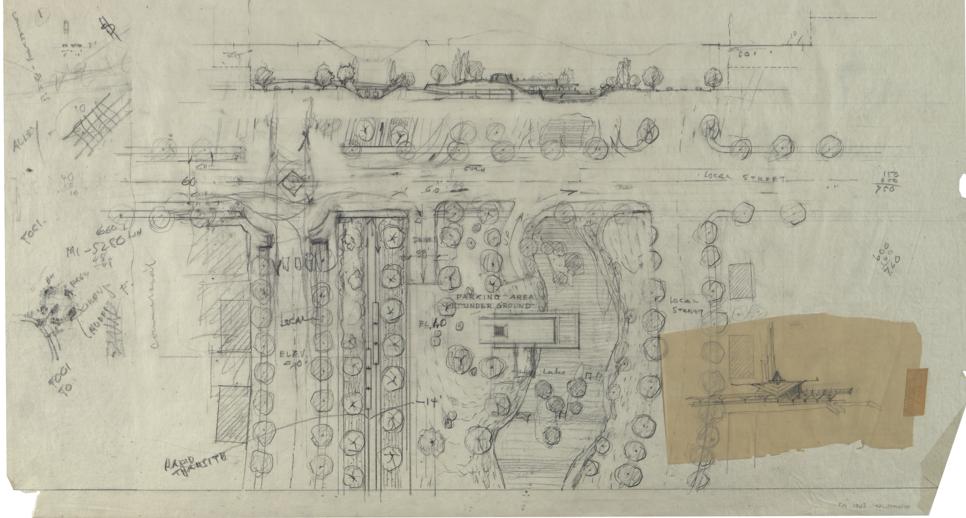 Frank Lloyd Wright Jr., Park System for Los Angeles, 1962