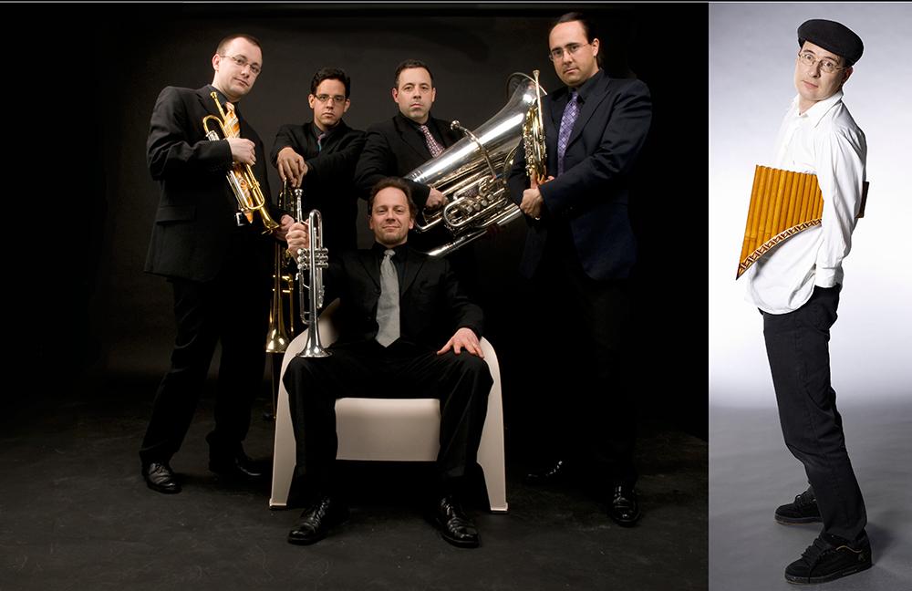 Geneva Brass Quintet et Michel Tirabosco