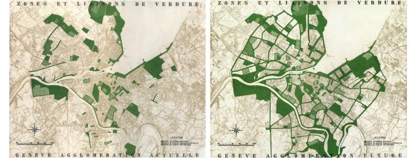 Rapport de la Commission des travaux publics pour la Ville de Genève, 1948 © Travaux Publics de la Ville de Genève