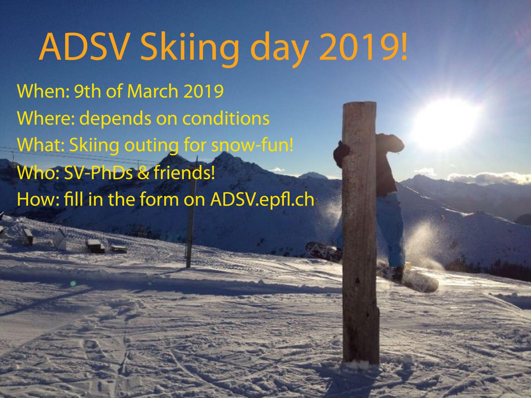 ADSV Ski Day