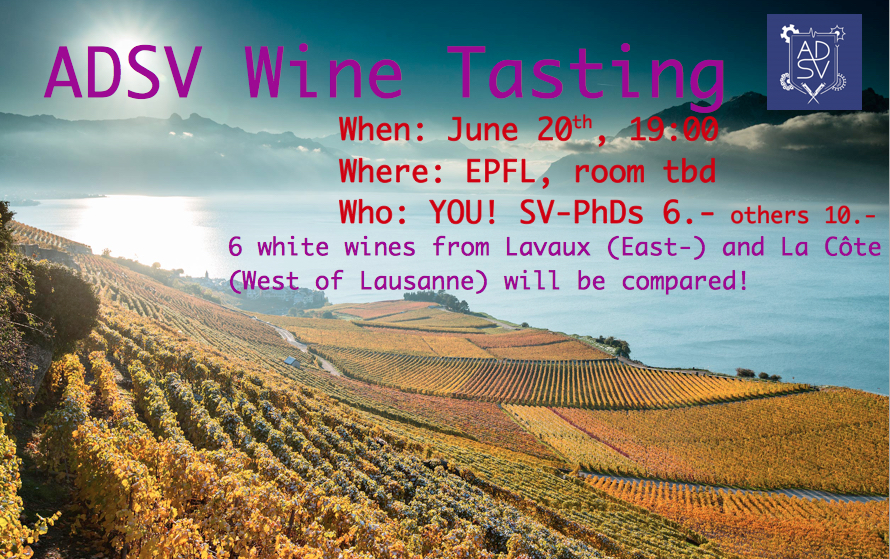 ADSV Wine Tasting