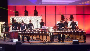Concert de percussions durant la Magistrale 2018