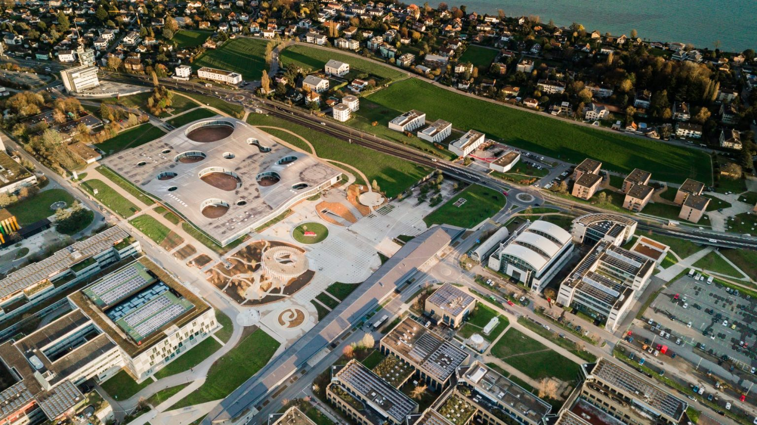 In immersive mode above the EPFL campus – Events
