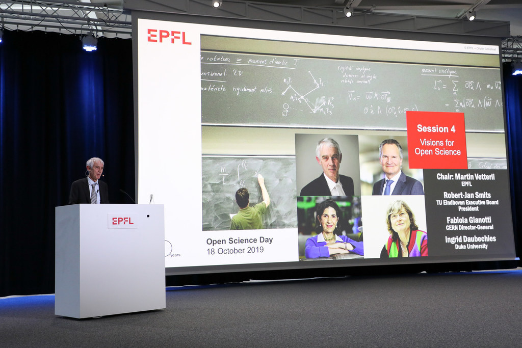 Impressions from the EPFL Open Science Day