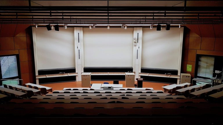 Auditoire vide EPFL