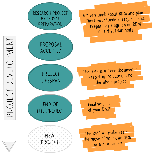 Data management plan (DMP) – Library