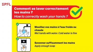 Comment se laver correctement les mains