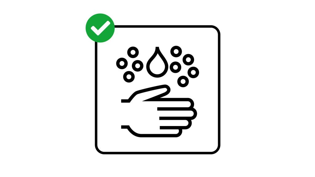 Pictogramme lavez-vous les mains fréquemment