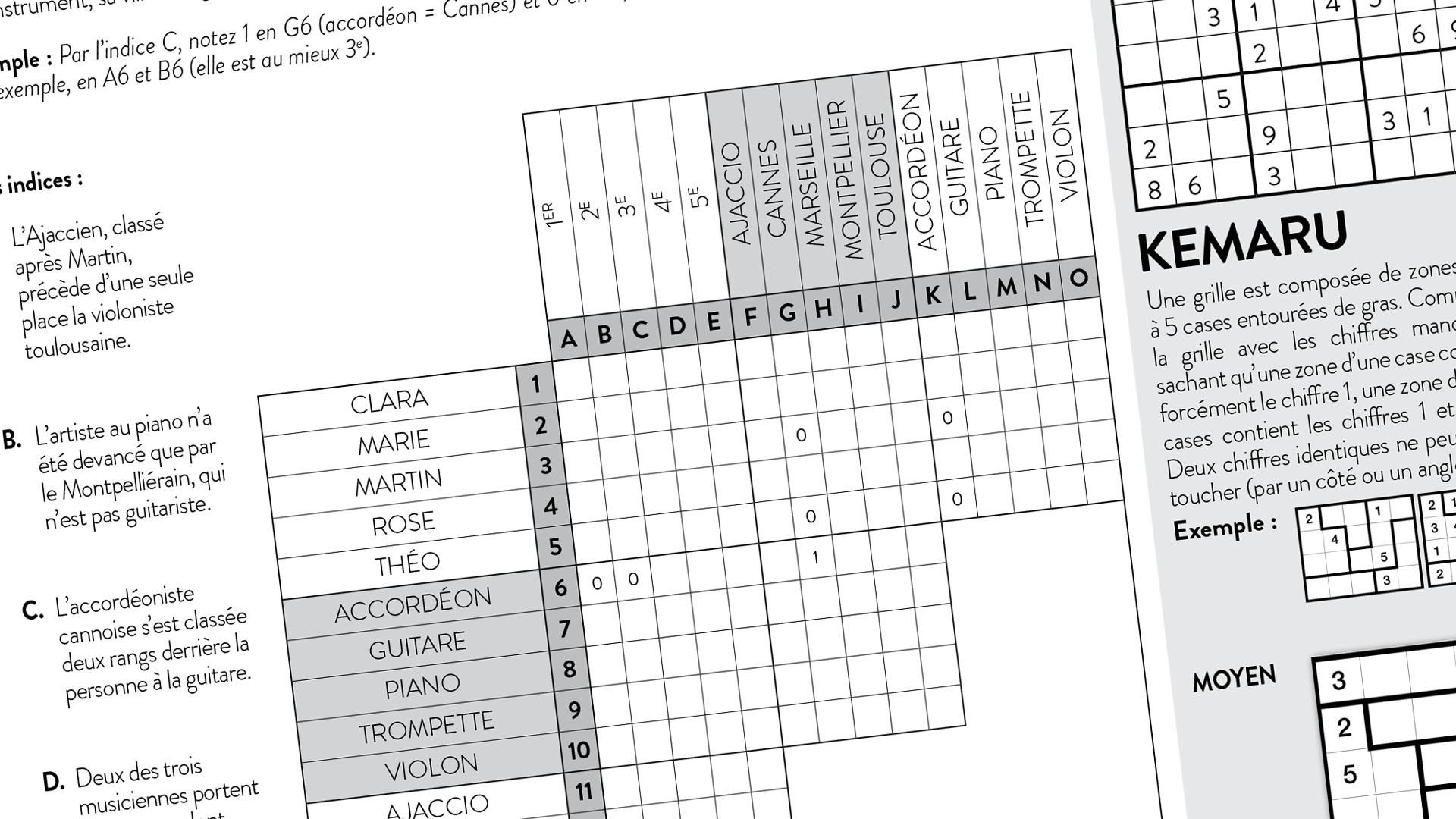 Capture d'écran des jeux dans l'EPFL Magazine