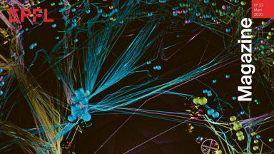 Couverture du 33e EPFL Magazine