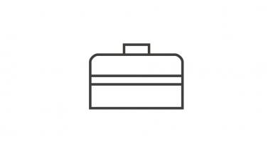 Icone boite à outils finance