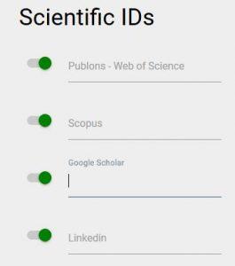 Id de recherche sur pages people