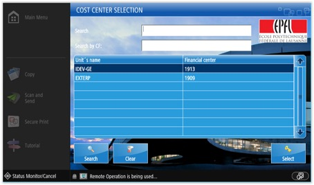 cost center 1