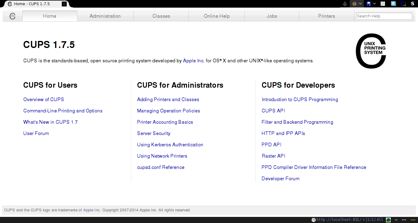 Install with CUPS (Mac, Linux) – Services and resources