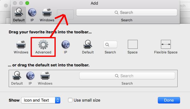 mac add item toolbar