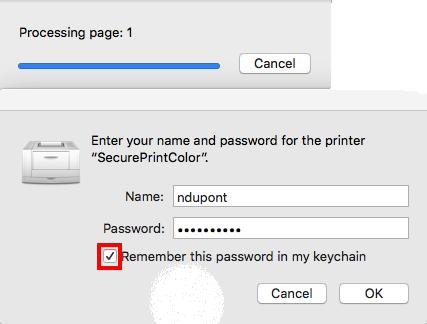 mac authentification