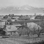 Photo du projet réalisé prise depuis la colline d'Ecublens.