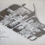 Axonométrie des bâtiments de l'EPFL