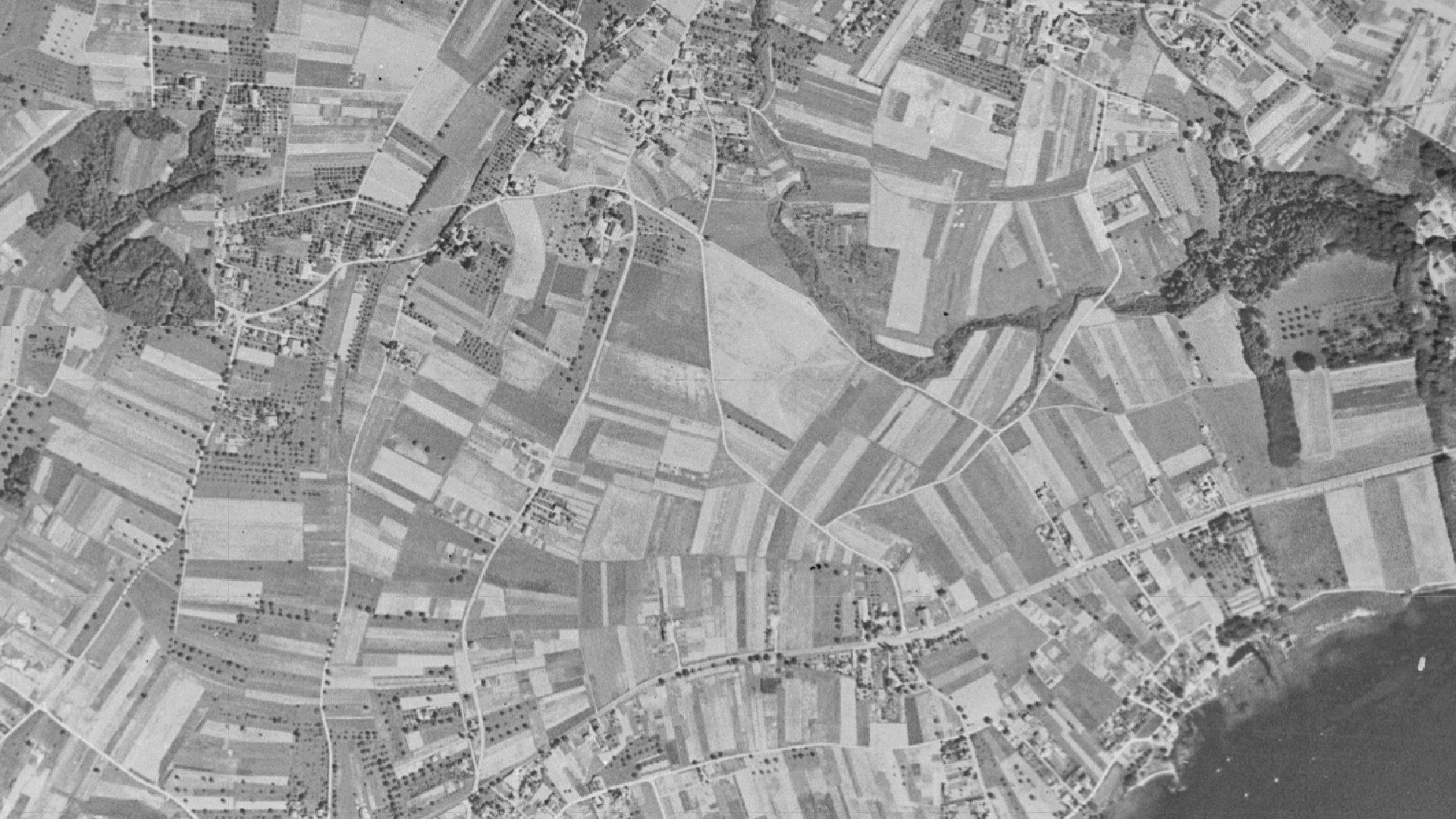 Terrains agricoles situés à Ecublens avant la construction de l'EPFL