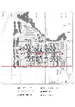 Plan de l'EPFL montrant les principaux noyaux de circulation verticale.