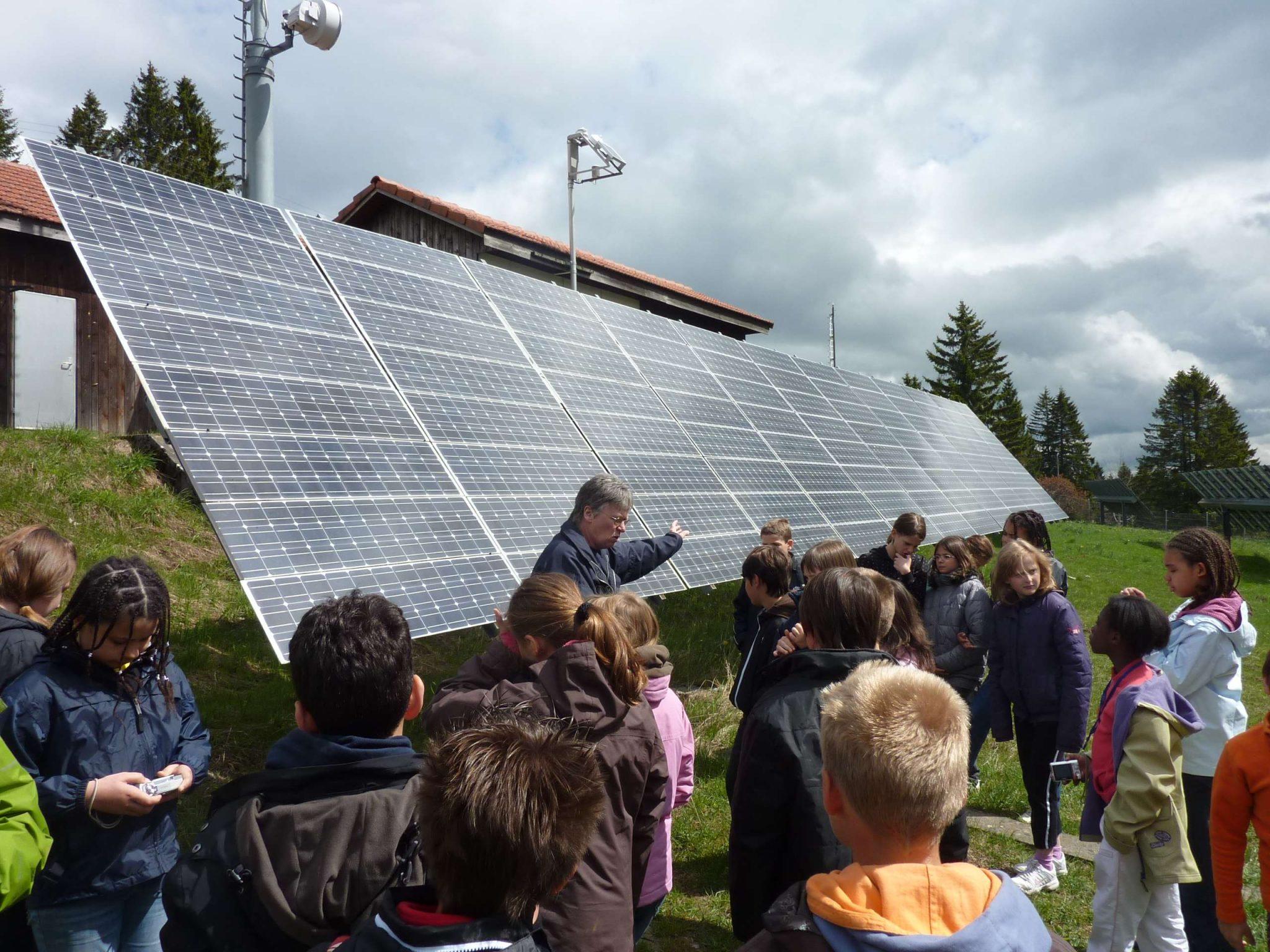 Panneaux solaires Franche-Montagne