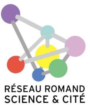 Logo Réseau romand science et cité