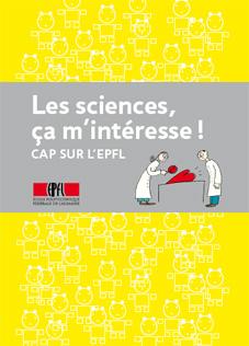 Brochure jaune Les sciences, ça m'intéresse!