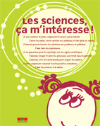 Brochure verte Les sciences, ça m'intéresse!