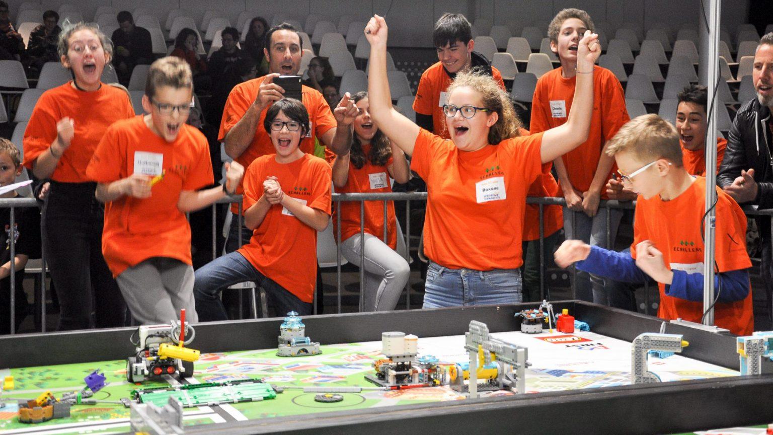 First Lego League Promotion De L Education Et Des Sciences