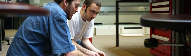 Photo d'étudiants de l'EPFL