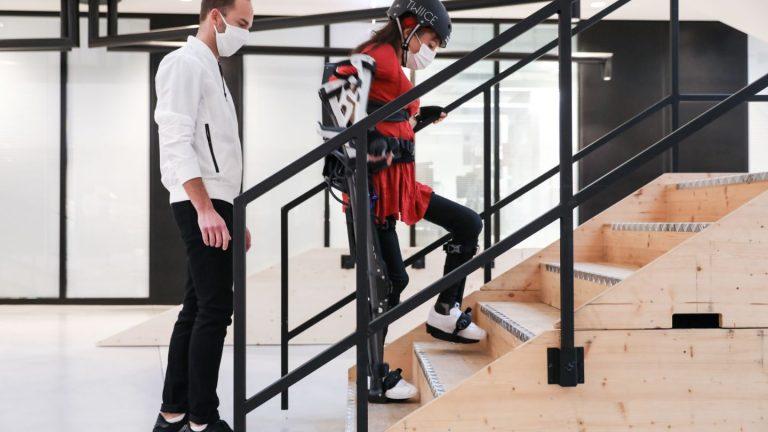 Exoskeleton race