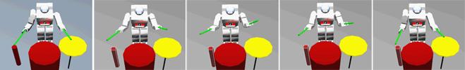 drum robot webots