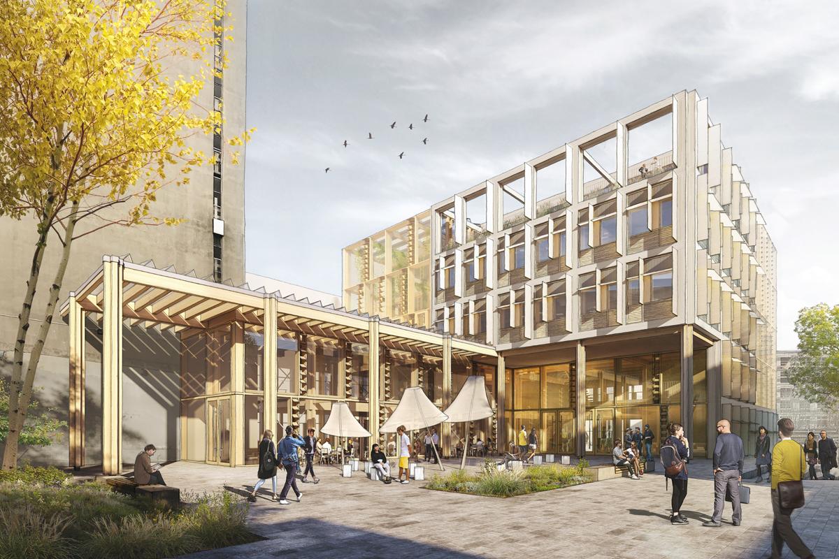 © Behnisch Architekten, Drees&Sommer Schweiz AG and ZPF Ingenieure AG 2019