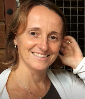 Portrait of Luisa Lambertini, professor at the Ecole Polytechnique Fédérale de Lausanne (EPFL), where she holds the Chair of International Finance (CFI)