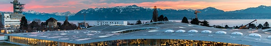 EPFL Night Panorama