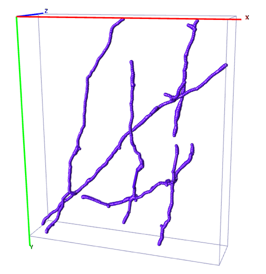 A reconstruction obtained after annotating 100 samples selected by our algorithm