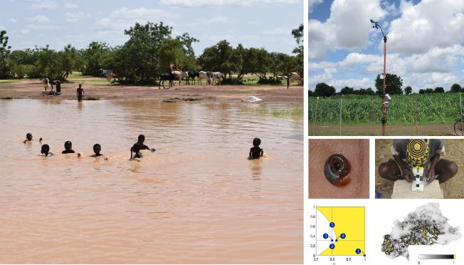 Schistosomiasis modeling in Burkina Faso