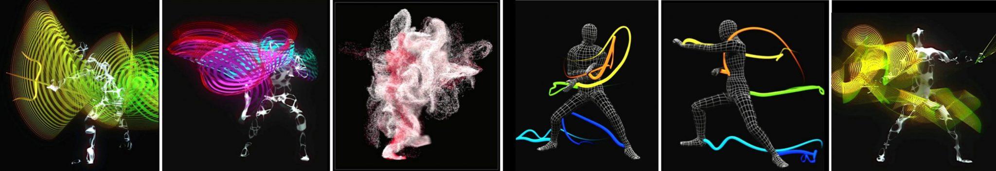 motion capture of kung fu